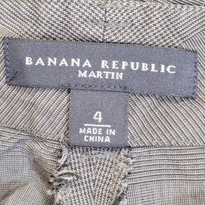 Banana Republic Pants - banana republic   gray martin silk cropped pants 4